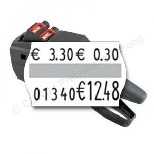 Pfandauszeichner, individueller Auszeichner für Pfandetiketten, contact premium 20.16 für Pfandauszeichnung