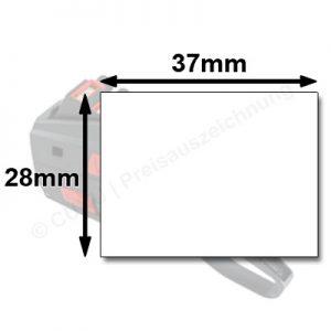 Preisauszeichner für 37x28mm Etiketten