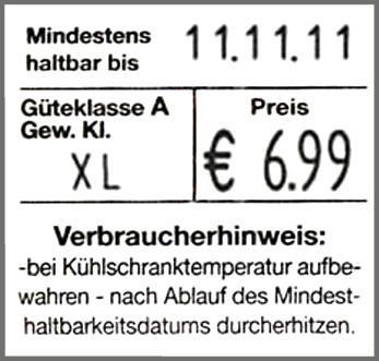 Etikettiergerät für Eier contact premium 20.29 Eier B