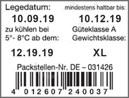 contact Eierauszeichner für EAN-Code Etiketten