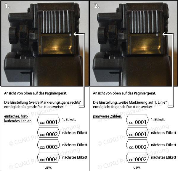 Chargenauszeichner Blitz Textile 2644 Textilauszeichner