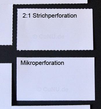 perforationsarten