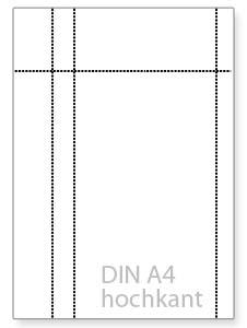 Anzahl der Perforationslinien - perforiertes Papier