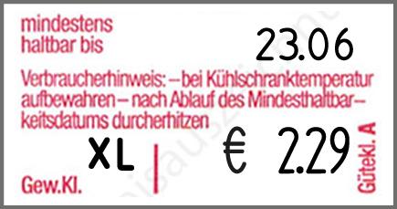 Eierauszeichner contact premium 20.37 Eier