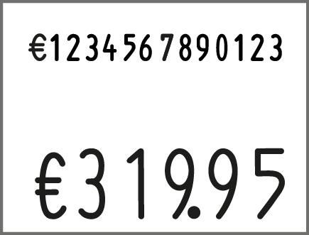 contact Etikettenauszeichner contact premium 37.28-1406 A