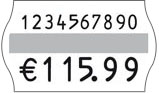 Handauszeichner für 32x19mm Etiketten mit gewölbtem Rand