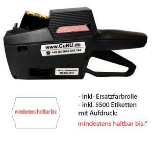 c2516 Preisauszeichner für MHD