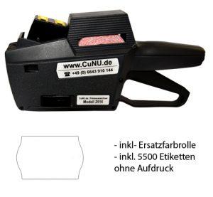 cunu 2516 Auszeichner inkl. Etiketten