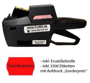 c2516 Preisauszeichner mit Sonderpreisetiketten