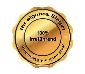 eigenes Siegel für Onlineshop
