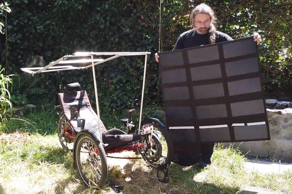 Der Aufbau des Solardachs