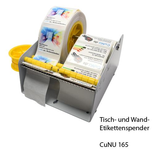 Etikettenspender für mehrere Rollen - cunu 165