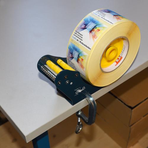 cunu 52S Tisch-Etikettenspender zum anklemmen