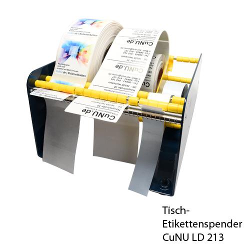 Tisch Etikettenspender für mehrere Rollen Etiketten CuNU LD 213