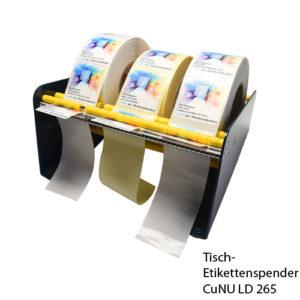 CuNU LD 265 - Tisch-Etiketten-Spender
