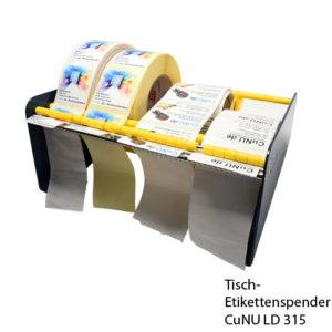 CuNU ld 315 Tisch Etikettenspender