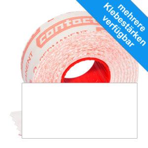 rechteckige Etiketten 25x12mm