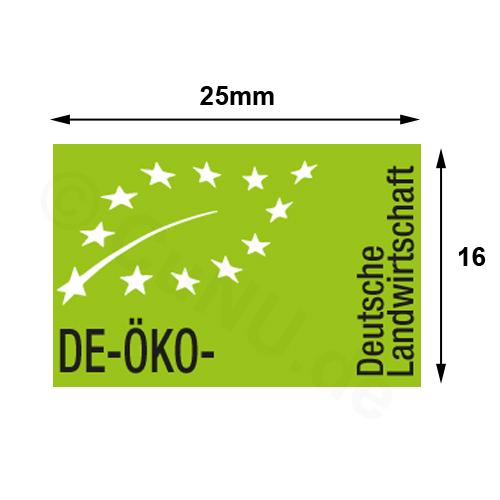 Bio- Öko- Kontrollstellenetiketten für alle Kontrollstellen, z.B. für Bio-Eier