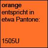 Orange Pantone 1505U