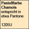 Pastellfarbe Chamois