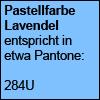 Pastellfarbe Lavendel