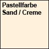 Pastellfarbe Sand