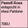 Pastellfarbe Rosa