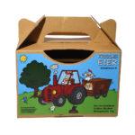 Motiv Traktor für Eier-Tragebox