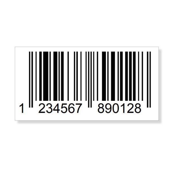 EAN-Code Etiketten GTIN 13 Barcode