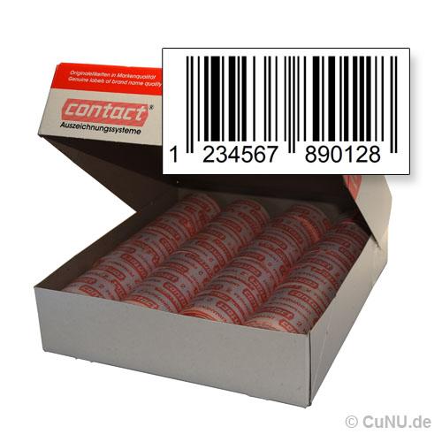 Gtin, EAN Etiketten