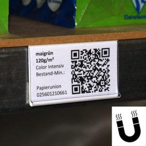 magnetische Etikettenhalter