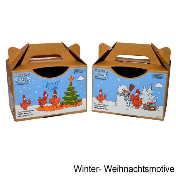 Die Winter- bzw. Weihnachtsmotive