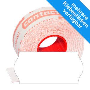26x12mm contact Etiketten für Handauszeichner