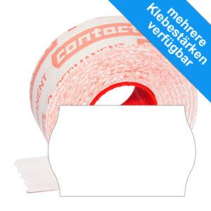 Wellenrand contact Etiketten 26x16mm