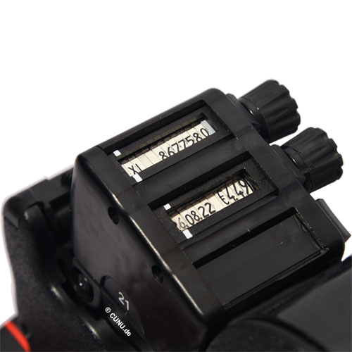 Druckwerk von oben Blitz L21