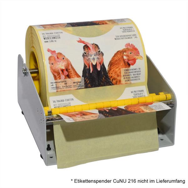 CuNU 216 Etikettenspender