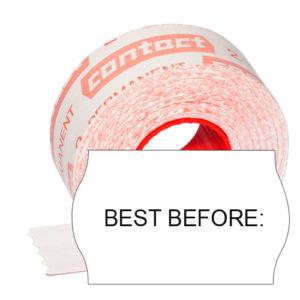 best before Etiketten zur Kennzeichnung des MHD