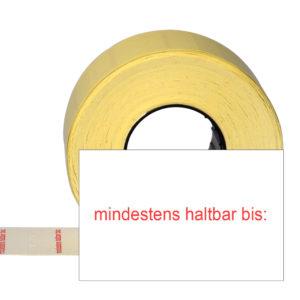 MHD-Etiketten 25x16mm für Etikettierer